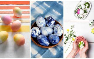 Cum să vopsești ouăle de Paște anul acesta. 30 de idei