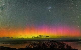 Ai văzut aurora australă? Culorile sunt incredibile! - VIDEO