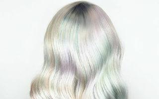 Părul holografic, tendința uimitoare pentru 2017. 20 de imagini