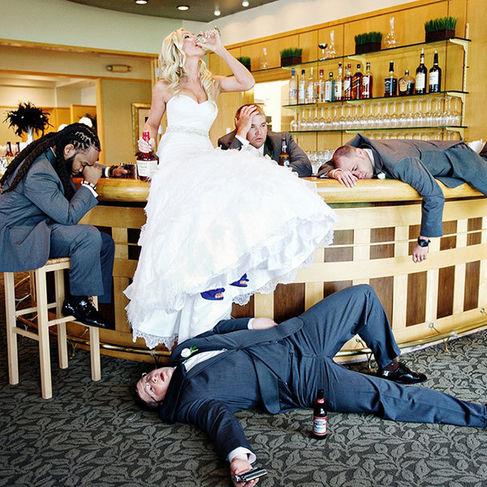 Adio Reguli și Tradiții 40 Cele Mai Amuzante Fotografii De Nuntă