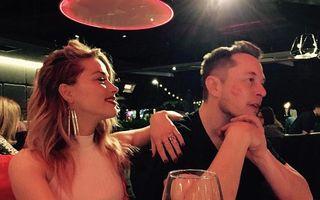 Amber Heard a confirmat relația cu miliardarul Elon Musk