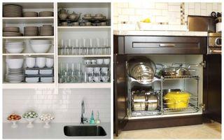 Cum să organizezi dulapurile din bucătărie. 6 idei