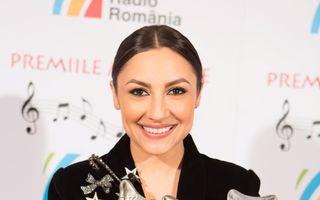 Andra este marea câștigătoare a Premiilor Muzicale Radio România