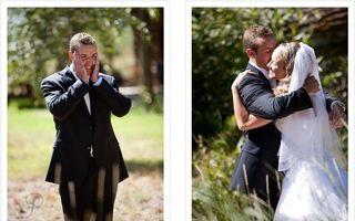 Cum reacţionează 14 miri când îşi văd pentru prima dată miresele în ziua nunţii
