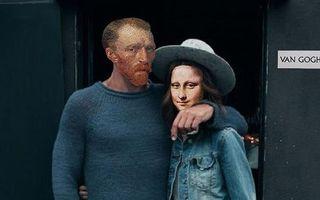 Cum ar fi arătat Mona Lisa şi Van Gogh dacă erau hipsteri