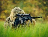 Lunetiştii din armata germană sunt invizibili: Poţi să-i observi în aceste imagini?