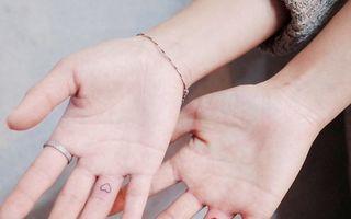 Tatuaje minimaliste: 25 de modele simple şi discrete care te inspiră