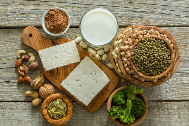 dieta vegetariana echilibrata