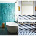 Gresie şi faianţă pentru o baie deosebită. 30 de modele uimitoare