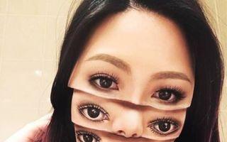 Cel mai talentat makeup artist! Realizează iluzii optice cu ajutorul machiajului
