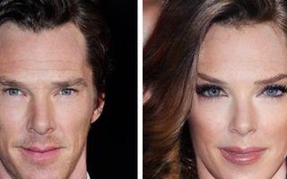 Cum ar arăta vedetele dacă ar trece printr-o schimbare de sex. 12 transformări ale unor actori faimoşi!
