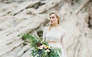 Cele mai frumoase rochii de mireasă în stilul ombre