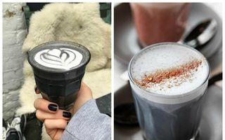 Cel mai nou latte care face senzaţie pe Instagram. De ce este atât de negru?