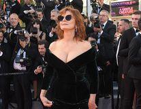 Susan Sarandon arată magnific la 70 de ani. În '78 poza topless la Cannes!