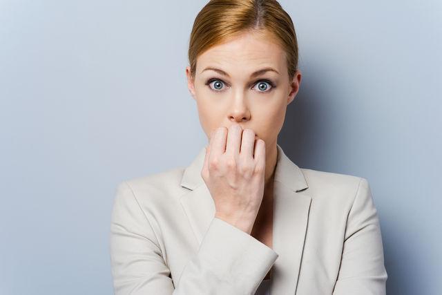 Femeie stresată