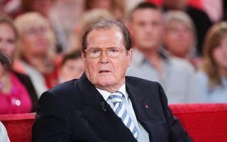 A murit Roger Moore: Imagini memorabile cu cel care a fost de 7 ori James Bond