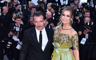 Antonio Banderas, un bărbat cu gusturi fine: Iubita lui a făcut spectacol la Cannes