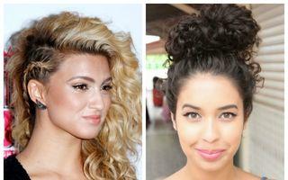 20 de coafuri pentru părul creţ sau ondulat
