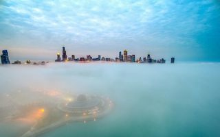 Chicago, privit de sus de un român: Cele mai frumoase imagini aeriene cu oraşul american