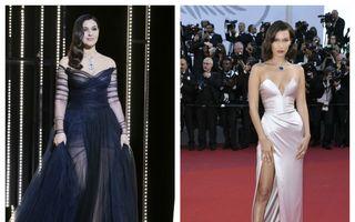 Cele mai sexy ținute de la Cannes 2017. Monica Bellucci, uimitoare într-o rochie transparentă