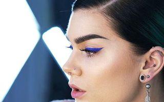 20 de stiluri în care să porți machiajul cu nuanțe de albastru