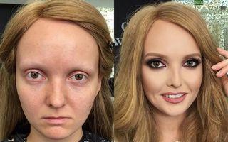 Make-up artistul care face minuni! 10 femei pe care machiajul le-a transformat complet