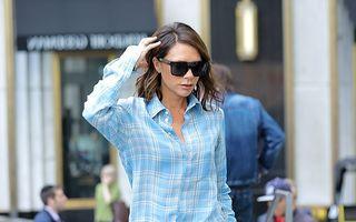 Victoria Beckham a ieşit în pijamale pe stradă. Dar are stil!