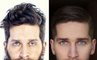 Transformare totală: Cum arată 35 de bărbaţi după ce şi-au ras barba