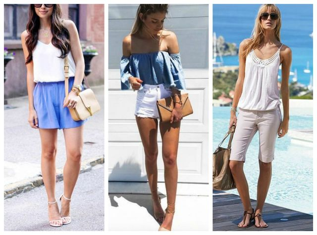 Ce pantaloni scurți să porți în funcție de forma corpului tău