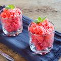 Cum să-ți faci granita de pepene. Cea mai simplă rețetă de vară!