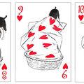 Cele mai inventive cărţi de joc. Ilustraţiile cu câini sunt uimitoare!