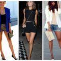 Moduri elegante în care să porți pantalonii scurți. 20 de ținute