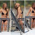 Gwyneth Paltrow a rămas fără glamour: Vedeta arată ca o femeie obişnuită în costum de baie