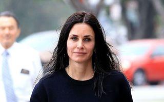 Adio Botox! Courteney Cox a renunţat la injecţiile faciale cu ser
