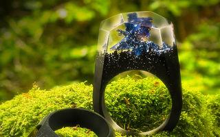 O lume într-un inel: Bijuterii fantastice cu imagini ca-n basme