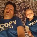 Cele mai amuzante tricouri pentru părinţi şi copii. 10 imagini