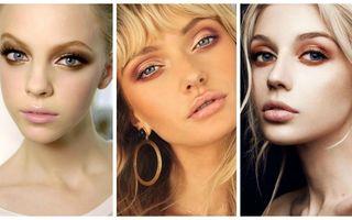Machiajul ochilor cu farduri metalice. 25 de stiluri pe care să le încerci