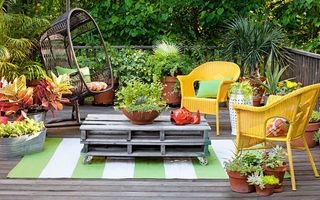 20 de piese de mobilier pentru exterior pe care le poți face singură