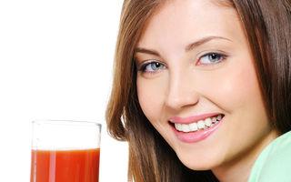 De ce ar trebui să bei un pahar cu suc de roșii în fiecare zi