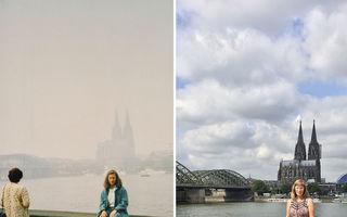 Înapoi în timp: A făcut aceleaşi poze, în aceleaşi locuri, după 30 de ani
