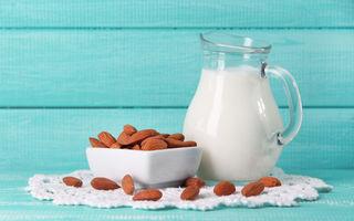 Beneficii ale laptelui de migdale pe care nu le știai