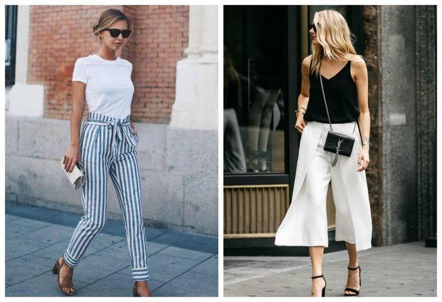 6 tipuri de pantaloni ideali pentru ţinutele de vară
