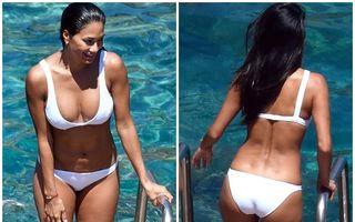Nicole Scherzinger, la plajă cu noul iubit: Celulita rezistă!