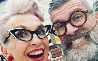 10 cupluri de hipsteri în vârstă care arată mai cool decât vedetele