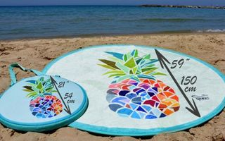 S-a inventat prosopul de plajă care nu se udă şi respinge nisipul