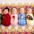 Prințese în miniatură. O mamă a transformat 6 bebeluși în personaje Disney