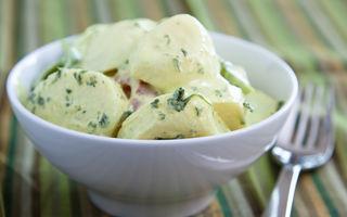 Cum să faci cea mai bună salată de cartofi