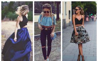 Cum să porţi topurile scurte? 25 de outfituri perfecte
