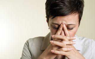 6 semne ciudate care arată că ești prea stresată
