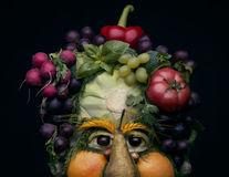 Asta înseamnă să ai imaginaţie! Portrete din legume şi fructe